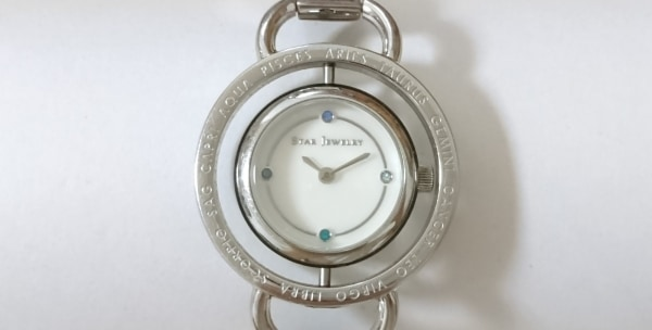 スタージュエリー 腕時計美品  ラブスターグローブ - レディース シェル文字盤