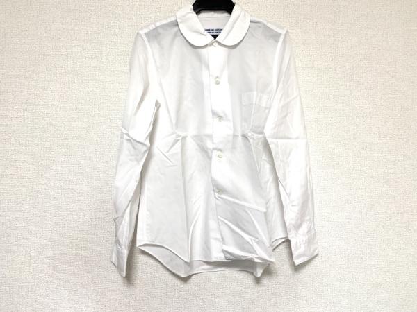 コムデギャルソン コムデギャルソン 長袖シャツ サイズS メンズ 白