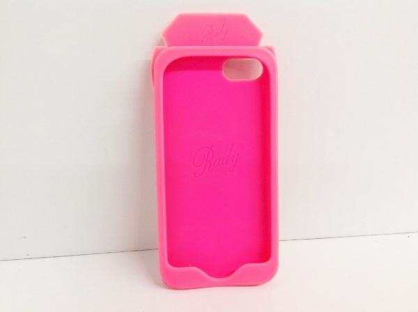 Rady(レディ) 携帯電話ケース ピンク×マルチ ラバー