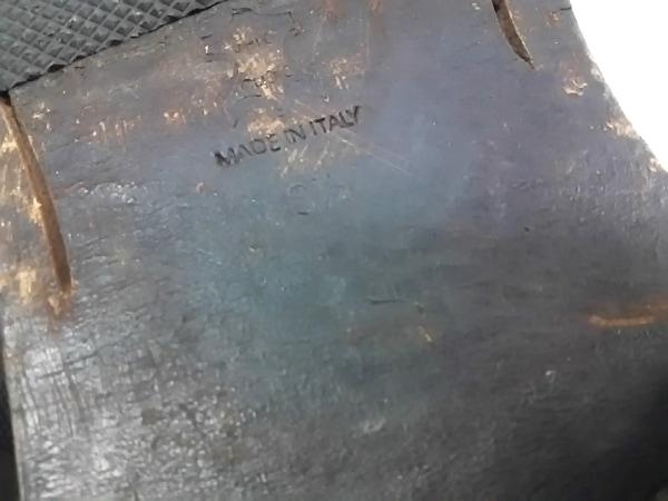 ドルチェアンドガッバーナ シューズ 8 1/2 メンズ 黒 アウトソール張替済 レザー