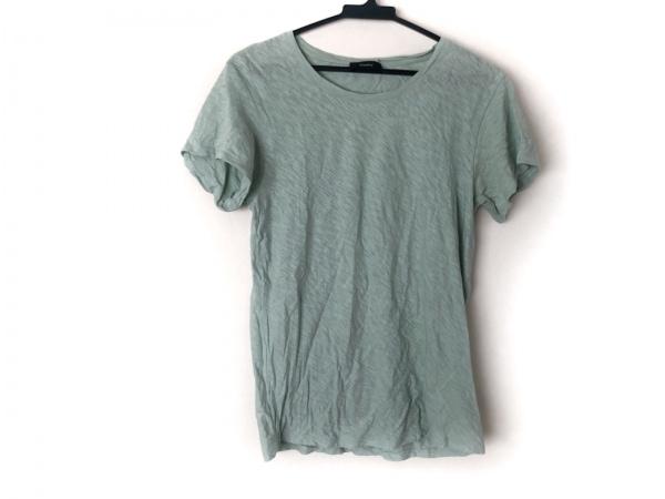theory(セオリー) 半袖Tシャツ サイズS レディース ライトグリーン