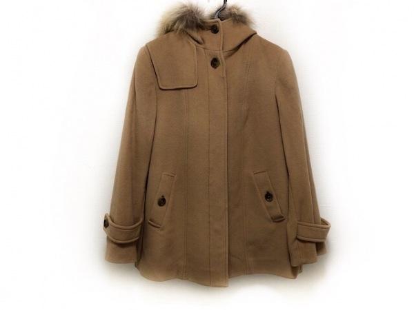 J.PRESS(ジェイプレス) コート サイズ9 M レディース - - ベージュ 長袖/冬