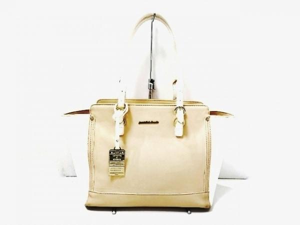 サマンサ&シュエット ハンドバッグ - - ピンクベージュ×アイボリー 1