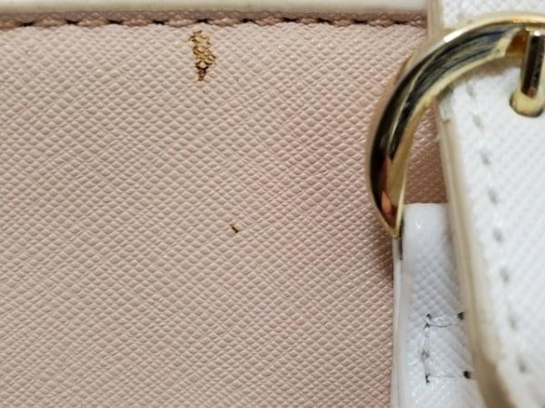 サマンサ&シュエット ハンドバッグ - - ピンクベージュ×アイボリー 9