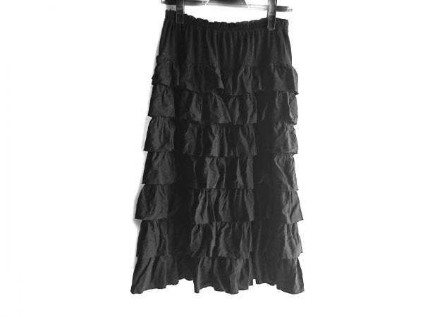 PINK HOUSE(ピンクハウス) スカート レディース美品  黒 フリル