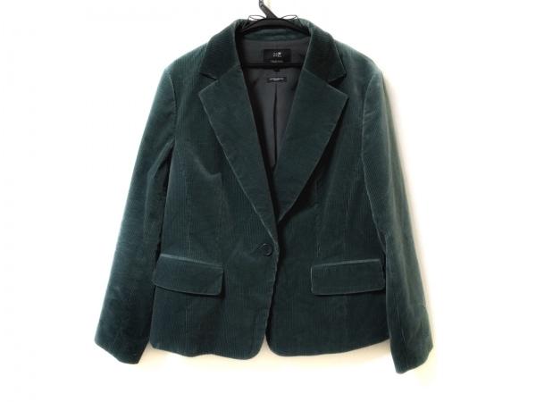 23区(ニジュウサンク) ジャケット サイズ48 XL レディース グリーン コーデュロイ
