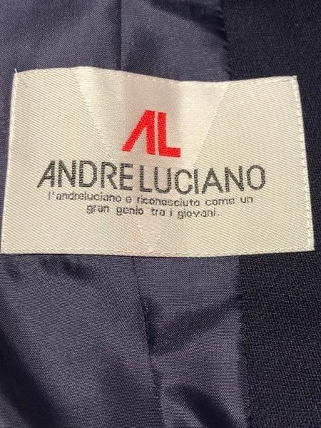 ANDRE LUCIANO(アンドレルチアーノ) ジャケット メンズ美品  ダークネイビー