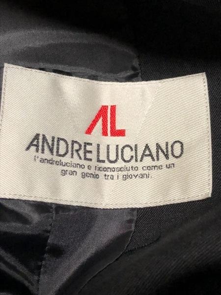 ANDRE LUCIANO(アンドレルチアーノ) ジャケット メンズ美品  黒