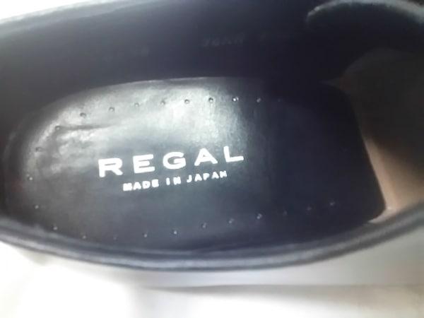 REGAL(リーガル) シューズ 24 1/2 メンズ 黒 レザー