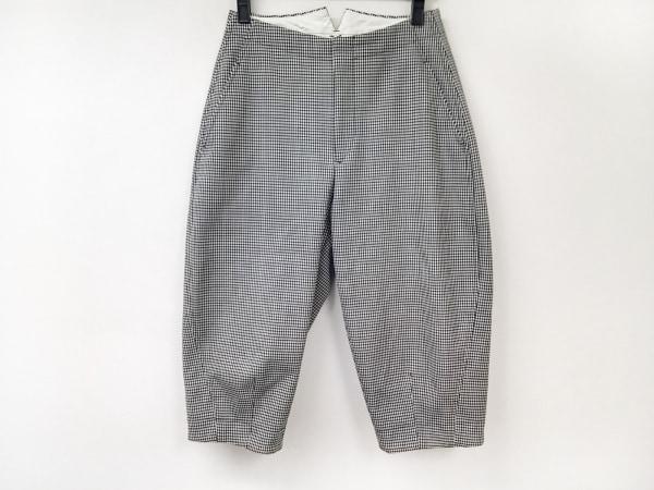 コムデギャルソン コムデギャルソン パンツ サイズS レディース 白×黒