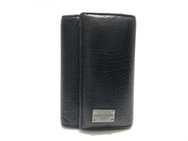 DOLCE&GABBANA(ドルチェアンドガッバーナ) キーケース 黒 6連フック レザー