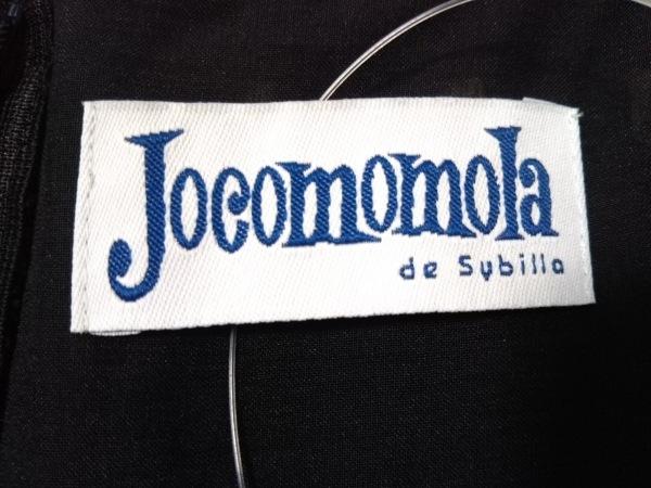 JOCOMOMOLA(ホコモモラ) ワンピース サイズ42 L レディース美品  黒 刺繍