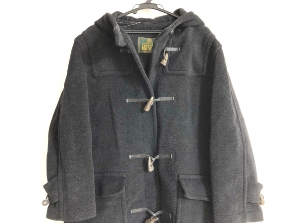 GRENFELL MADE IN ENGLAND(グレンフェル) ダッフルコート メンズ ダークグレー 冬物