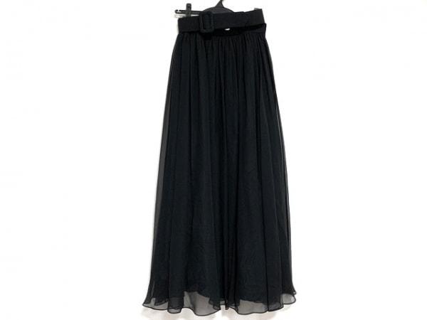 GIVENCHY(ジバンシー) ロングスカート サイズ14 XL レディース美品  黒 HI FORMAL