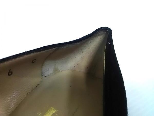 サルバトーレフェラガモ パンプス 6 C レディース - 黒 スエード