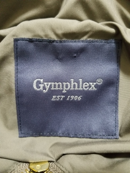Gymphlex(ジムフレックス) ダウンジャケット サイズ12 メンズ グレー