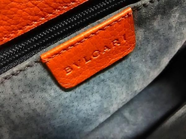 BVLGARI(ブルガリ) ハンドバッグ ブルガリブルガリ ブラウン レザー 6