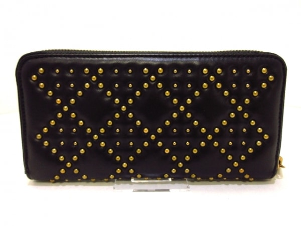 ChristianDior(クリスチャンディオール) 長財布美品  - 黒×ゴールド 2