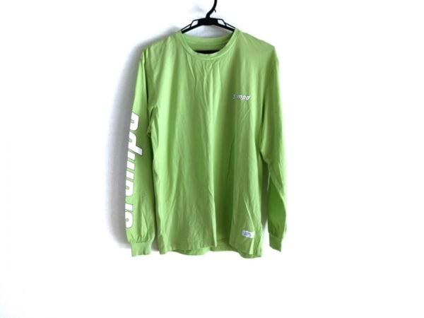 Stampd(スタンプド) 長袖Tシャツ サイズS メンズ ライトグリーン×白×黒