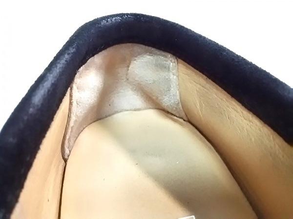 サルバトーレフェラガモ 靴 4 1/2 D レディース - 黒 スエード