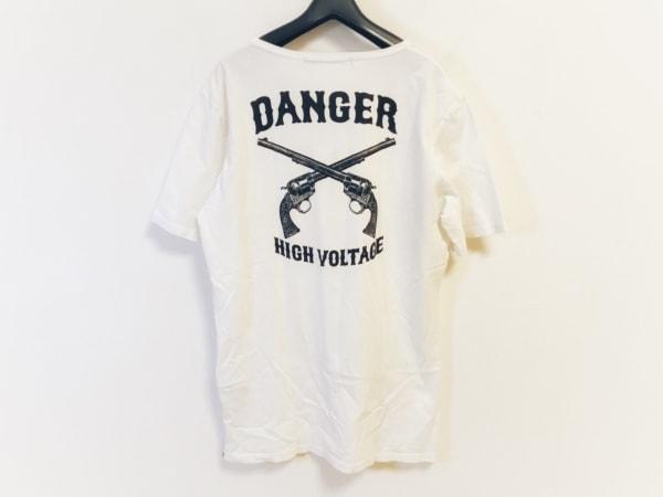 roar(ロアー) 半袖Tシャツ サイズ3 L メンズ 白×黒