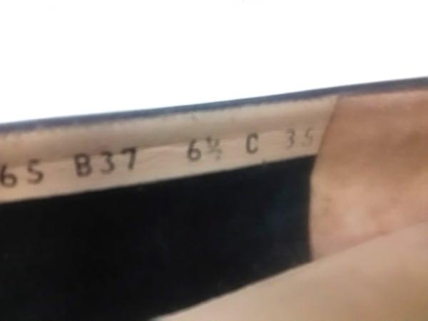 サルバトーレフェラガモ パンプス 6 1/2 C レディース ヴァラ 黒 レザー