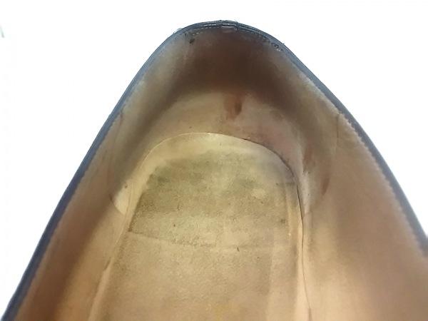 サルバトーレフェラガモ パンプス 6 1/2 D レディース - 黒 アウトソール張替済