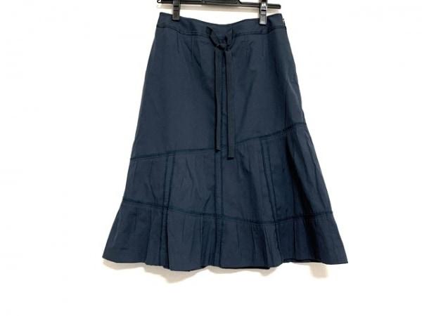 SONIARYKIEL(ソニアリキエル) スカート サイズ38 M レディース美品  ネイビー