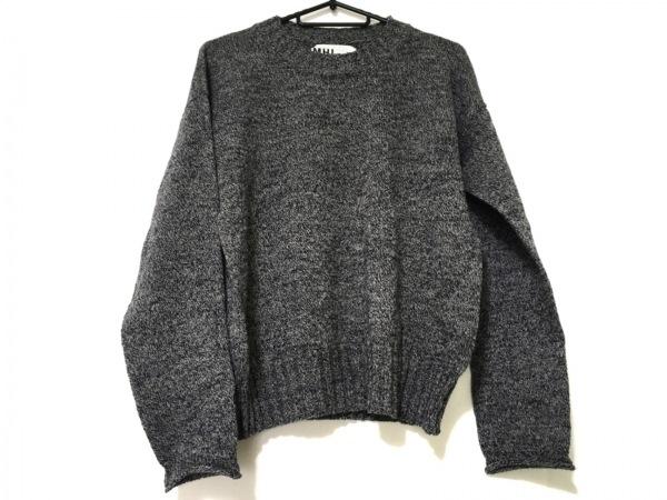 MHL.(マーガレットハウエル) 長袖セーター サイズ2 M レディース グレー×黒×白