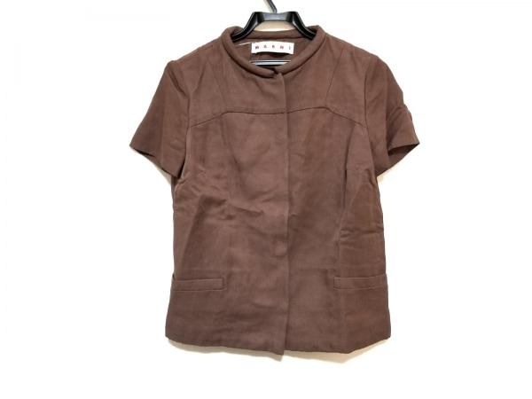 MARNI(マルニ) ジャケット サイズ38 S レディース美品  ブラウン