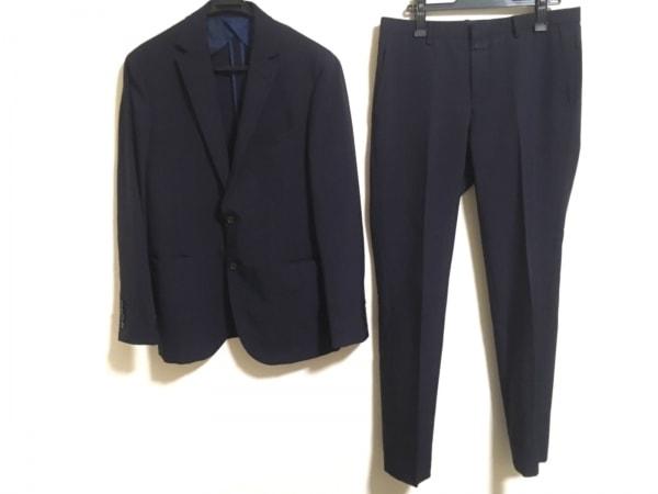 ブラックレーベルクレストブリッジ シングルスーツ サイズLL メンズ チェック柄