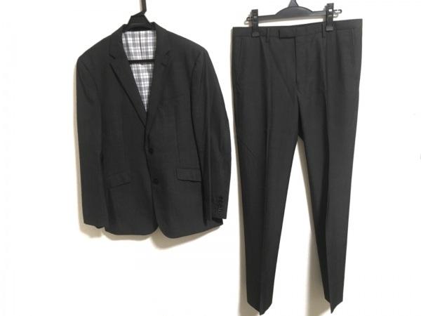 ブラックレーベルクレストブリッジ シングルスーツ サイズLL メンズ ダークグレー