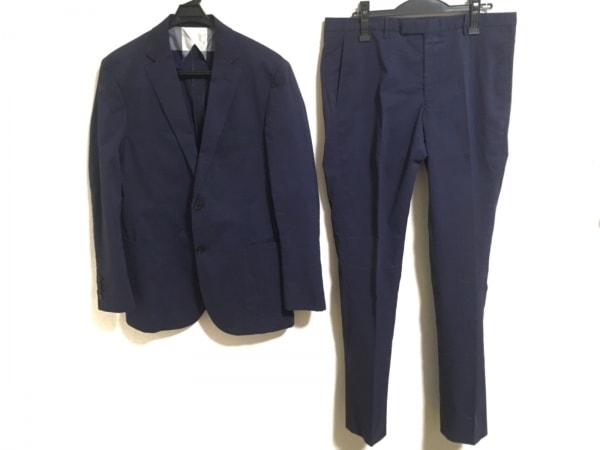 ブラックレーベルクレストブリッジ シングルスーツ サイズLL メンズ ネイビー