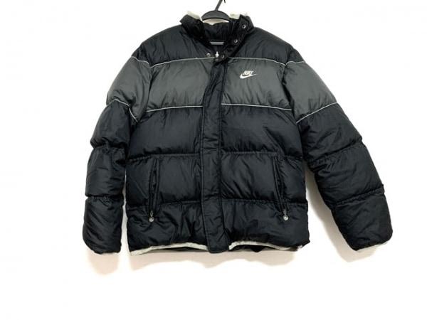 NIKE(ナイキ) ダウンジャケット サイズXL メンズ美品  黒×グレー