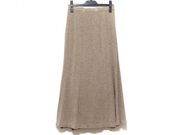 ROSSA(ロッサ) ロングスカート サイズ42 L レディース ベージュ マキシ丈
