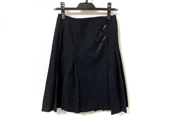 JeanPaulGAULTIER(ゴルチエ) 巻きスカート サイズ36 S レディース美品  黒