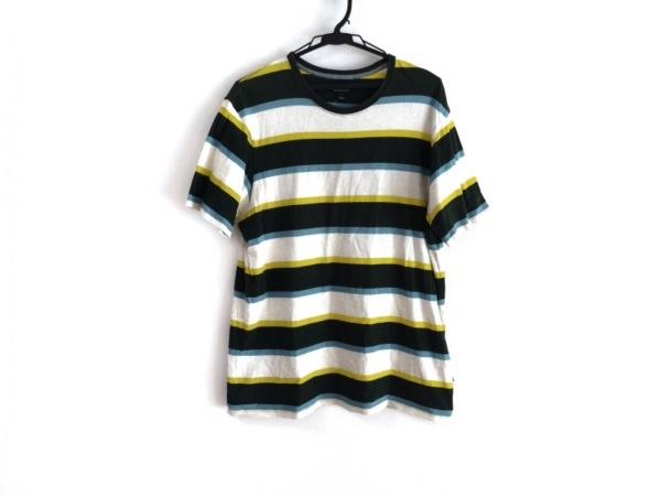 Patagonia(パタゴニア) 半袖Tシャツ サイズL メンズ ボーダー