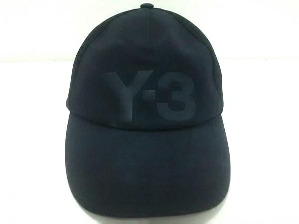 Y-3(ワイスリー) キャップ W/58cm 黒 adidas ポリエステル×ポリウレタン