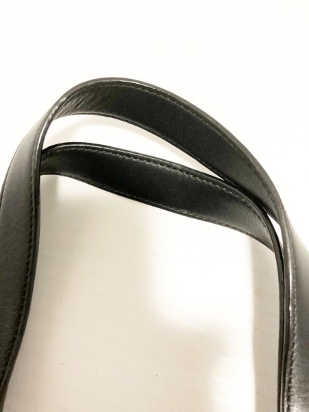 GIVENCHY(ジバンシー) トートバッグ - 黒 ジャガード×レザー