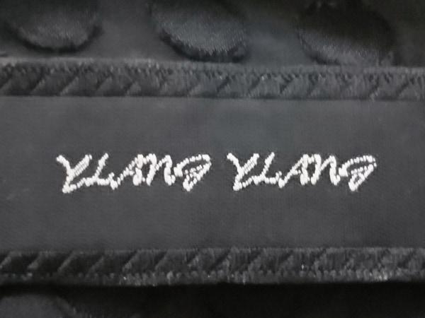 YLANG YLANG(イランイラン) ボレロ レディース 黒 ドット柄/シルク