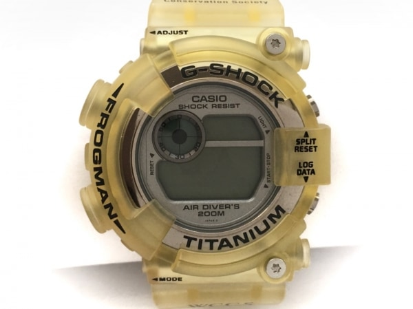 CASIO(カシオ) 腕時計 G-SHOCK/FROGMAN DW-8201WC メンズ シルバー