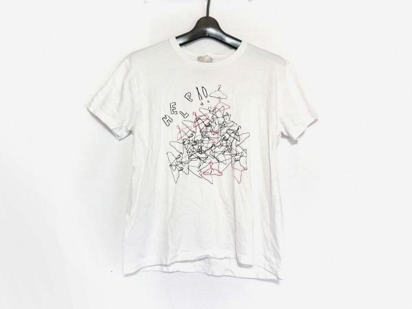 PaulSmith(ポールスミス) 半袖Tシャツ サイズS レディース美品  白×黒×レッド