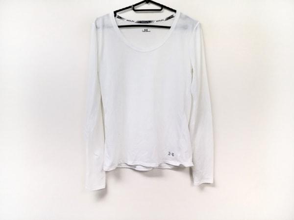 UNDER ARMOUR(アンダーアーマー) 長袖Tシャツ メンズ美品  白