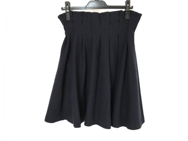 バーバリーブルーレーベル スカート サイズ38 M レディース美品  ネイビー