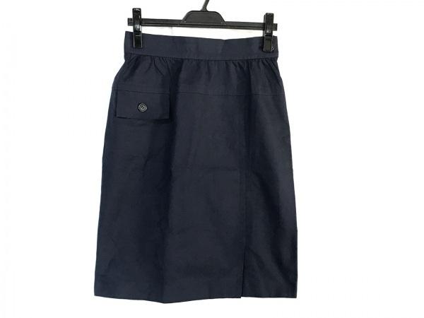 GIVENCHY(ジバンシー) スカート サイズ11 M レディース美品  ネイビー