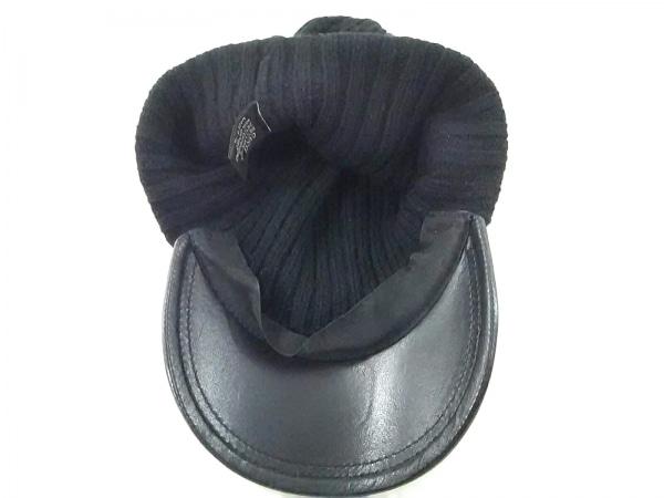 GUCCI(グッチ) ニット帽 黒 ウール×カシミヤ