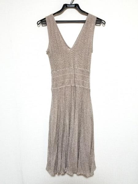 Laurel(ローレル) ワンピース サイズ36 S レディース美品  ピンク ラメ