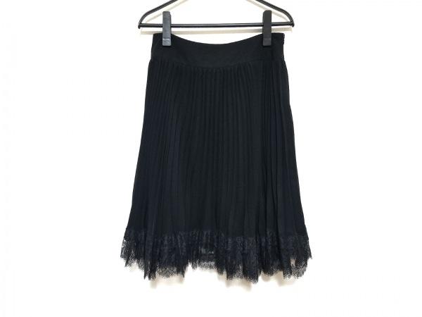 Rene(ルネ) スカート サイズ36 S レディース美品  黒 プリーツ