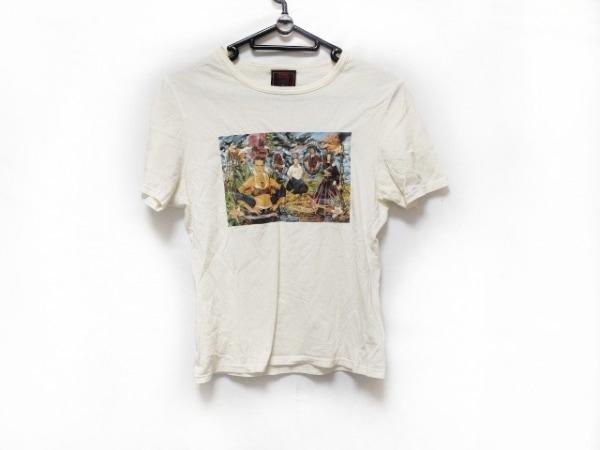 JeanPaulGAULTIER(ゴルチエ) 半袖Tシャツ レディース 白×マルチ CLASSIQUE