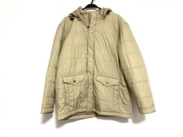 ハッシュパピーズ ダウンジャケット サイズ2L メンズ美品  ライトブラウン 冬物